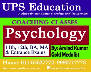 Best Psychology Coaching Center In North - UPS Education