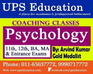 Psychology Coaching in Peeragadi - UPS Education